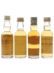 Craig Athol, Director's Choice, Long John & Morton's Bottled 1960s-1980s 4 x 4.7cl-5cl