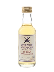 Operation Overlord D-Day 50th Anniversary Bottled 1994 5cl / 43%