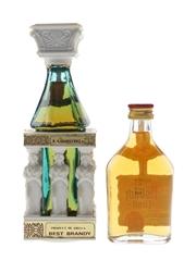 Asbach Uralt & Caryatides Brandy  4cl & 5cl