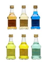Eoliki Liqueurs Assorted Flavours 6 x 5cl