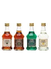 Eoliki Liqueurs Assorted Flavours 4 x 5cl