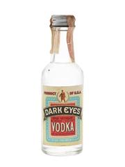 Dark Eyes Vodka Bottled 1960s-1970s - Clear Spring Distilling Co. 4.7cl / 40%