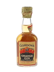 Gordon's Orange Gin Spring Cap Bottled 1940s-1950s 5cl / 34%
