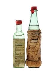 Drioli & Luxardo Maraschino Liqueurs Bottled 1960s 2 x 3cl