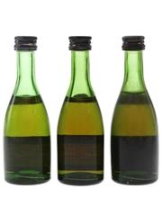 Remy Martin VS & VSOP Bottled 1970s 3 x 5cl / 40%