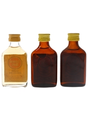 Lemon Hart Golden Jamaica Rum Bottled 1970s 3 x 5cl / 40%