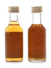 Mount Gay 3 Year Old & Fine Old Bottled 1970s & 1980s 4.7cl & 5cl / 40%