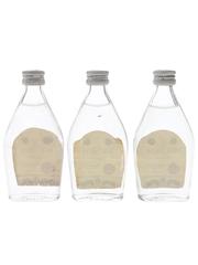 Bacardi Carta Blanca Bottled 1960s-1970s - Bahamas 3 x 5cl / 40%