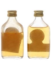 Long John Bottled 1970s 2 x 4.7cl / 40%
