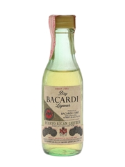 Bacardi Amber Label Dry Liqueur Bottled 1980s - Puerto Rico 5cl / 40%