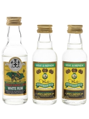 Sangster's Conquering Lion and Wray & Nephew White Overproof Rum Jamaica 3 x 5cl