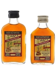 Myers's Planters' Punch Rum Bottled 1960s & 1970s 2 x 5cl / 40%