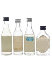 Assorted White Rum Don B, Lamb's, Ronrico, Santigo 4 x 5cl / 40%