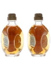 Vecchia Romagna Etichetta Nera Bottled 1960s-1970s 2 x 3cl / 40%