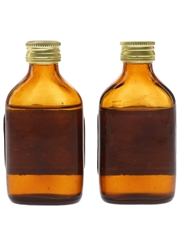 Orange Grove Old Rum Bottled 1970s - Low Robertson & Co. 2 x 5cl / 40%