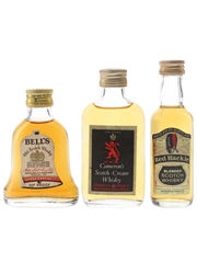 Bell's Extra Special, Cameron's Scotch Cream & Red Hackle Bottled 1960s & 1970s 3 x 5cl / 40%