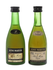 Remy Martin VS & VSOP Bottled 1970s & 1980s 2 x 5cl / 40%