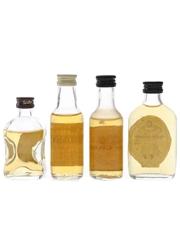 Cardhu, Cragganmore & Glen Grant Bottled 1970s-1980s 4 x 5cl