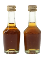 Hennessy VSOP Bottled 1970s-1980s 2 x 3cl / 40%