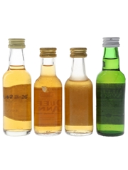 100 Pipers, Haig, Queen Anne & William Lawson's  4 x 5cl