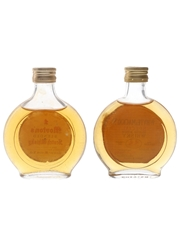 Morton's & Whyte & Mackay Bottled 1970s 2 x 5cl / 40%