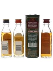 Black Bush & Bushmills Bottled 1980s & 1990s 3 x 5cl / 40%