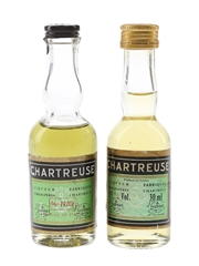 Chartreuse Green Bottled 1960s-1970s 2 x 3cl / 55%