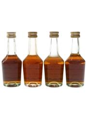 Hennessy 3 Star VS Bottled 1970s-1980s 4 x 5cl / 40%