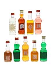 Assorted Fuentes Liqueurs  9 x 5cl