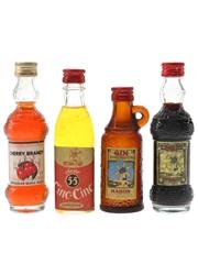 Santa Maria & Xoriguer Spirits & Liqueurs  4 x 4cl-5cl