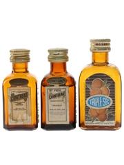 Cointreau & Morey Orange Liqueurs  3 x 3cl-5.5cl