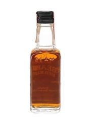 Beam's Sour Mash Black Label Bottled 1970s-1980s 4.7cl / 45%