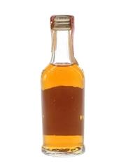 J W Dant Genuine Sour Mash Bourbon Bottled 1970s 4.7cl / 43%