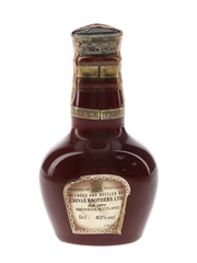 Royal Salute 21 Year Old Red Wade Ceramic Decanter 5cl / 40%