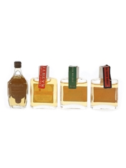 Dundee, Irish Whiskey, Scotch Whisky & Spey Royal Bottled 1970s - Tiny Novelty Bottles 4 x 1cl / 40%