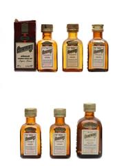 Cointreau Bottled 1970s & 1980s 6 x 3cl-5cl / 40%