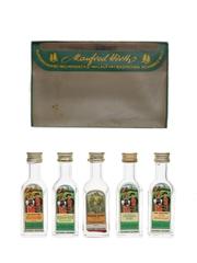 Manfred Horth Spirits & Liqueurs  5 x 2cl