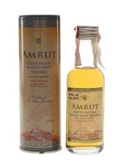 Amrut Peated Cask Strength Bottled 2016 5cl / 62.8%