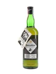 Buchanan's Black & White Bottled 1990s - Montenegro 70cl / 40%