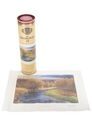 Glenlivet 12 Year Old Limited Edition Print 70cl / 40%