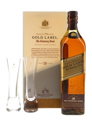 Johnnie Walker Gold Label 18 Year Old Glass Pack