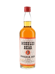 Muzzled Bear Jamaica Rum Bottled 1960s - Rigby & Evens Limited 75.7cl / 40%