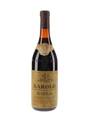Barolo Kiola 1970