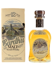 Cardhu 12 Year Old Bottled 1980s 75cl / 40%