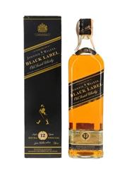 Johnnie Walker Black Label 12 Year Old Bottled 1990s 100cl / 40%
