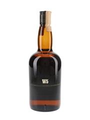 W5 Scotch Whisky Bottled 1980s - Buton 75cl / 40%