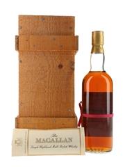 Macallan 1940 Handwritten Label Bottled 1981 - Pro Nobilitate Ebert, Hainzl & Co. 75cl / 43%