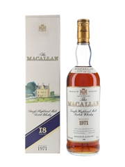 Macallan 1971 18 Year Old