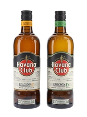 Havana Club Edicion Profesional C & D  2 x 70cl