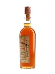 Macallan Glenlivet 1940 Bottled 1970s - Signed By Edoardo Giaccone 75cl / 43%